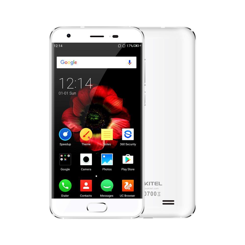"Oukitel K4000 plus 2GB RAM 16GB ROM 4000mAh Oukitel OS Mobile Phone 5.0"" Mtk6737 Octa Core 13.0mp+5.0mp Fingerprint Smart"