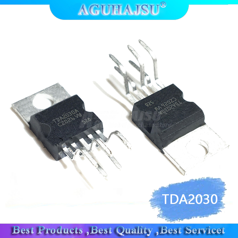 1pcs TDA2030 / TDA2030A Linear Audio Amplifier / PA / Short-circuit And Thermal Protection IC