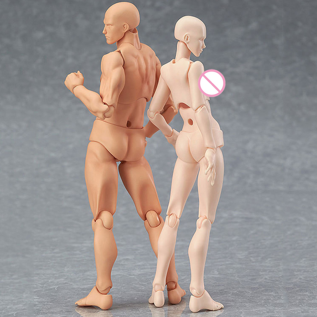 Toy Mannequin Action-Figure Figma Sketch Anime Artist Draw Human-Body-Doll Art-Painting