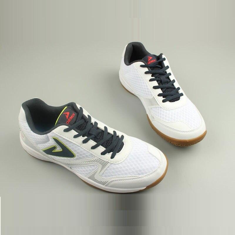 Hommes Semelle antidérapante Badminton Chaussures Hommes Respirant Chaussures de Sport Légères De Muscle De Vache Semelle Baskets Tennis D0768