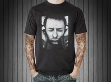 Thom Yorke Grafik Retro Vintage T Shirt Männer T Radiohead Uk Brit Pop Rock Band Print Kurzarm T-shirt(China)