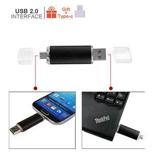 Image 4 - Smart Phone Usb Flash Drive Metalen Pen Drive 64Gb Pendrive 8Gb 16Gb 32Gb 4Gb Otg externe Opslag 3 In 1 Memory Stick Flash Drive