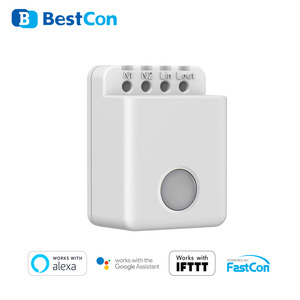 Image 2 - BroadLink BestCon MCB1 Smart Wi Fi Remote Switch Wireless Control Timer Box Interruptor 2500W With Alexa Google Assistant