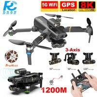 Hindernis Vermeidung Kamera Drohne HD 8K 3-Achsen Gimbal KAI One Max 5G FPV Bürstenlosen Gimbal RC eders 4K Video GPS Professionelle