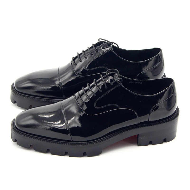 Formal Men Dress Shoes Leather Office