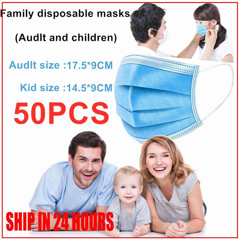 20pcs Medical Mask Face Masks 24h Ffp3 Express Delivery Disposable With Earmuff Pm25 With Earmuff Free Shipping Protect Health
