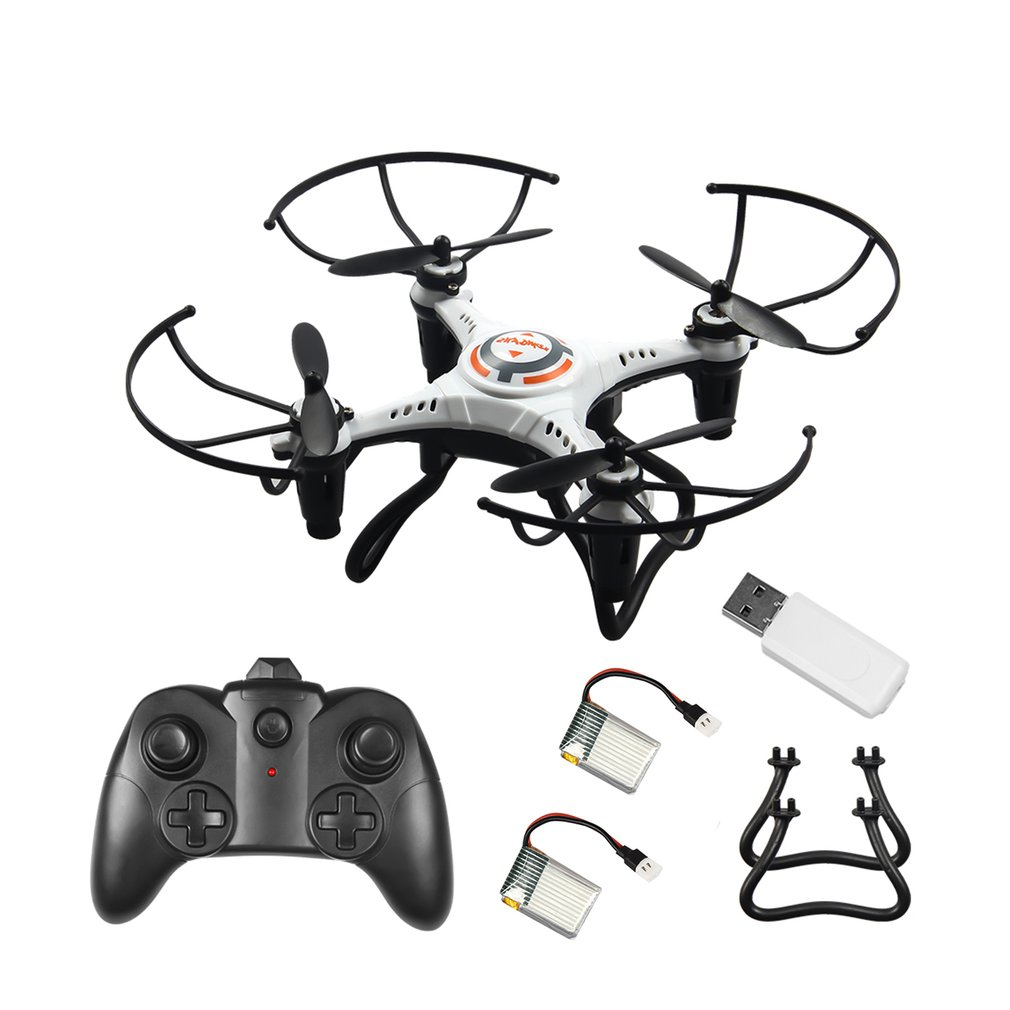 JX815-2 Mini RC Drone 2.4GHz 4 Channel Remote Control Drone 360 Rolling Headless Mode Aircraft with Tripod Gift for Children