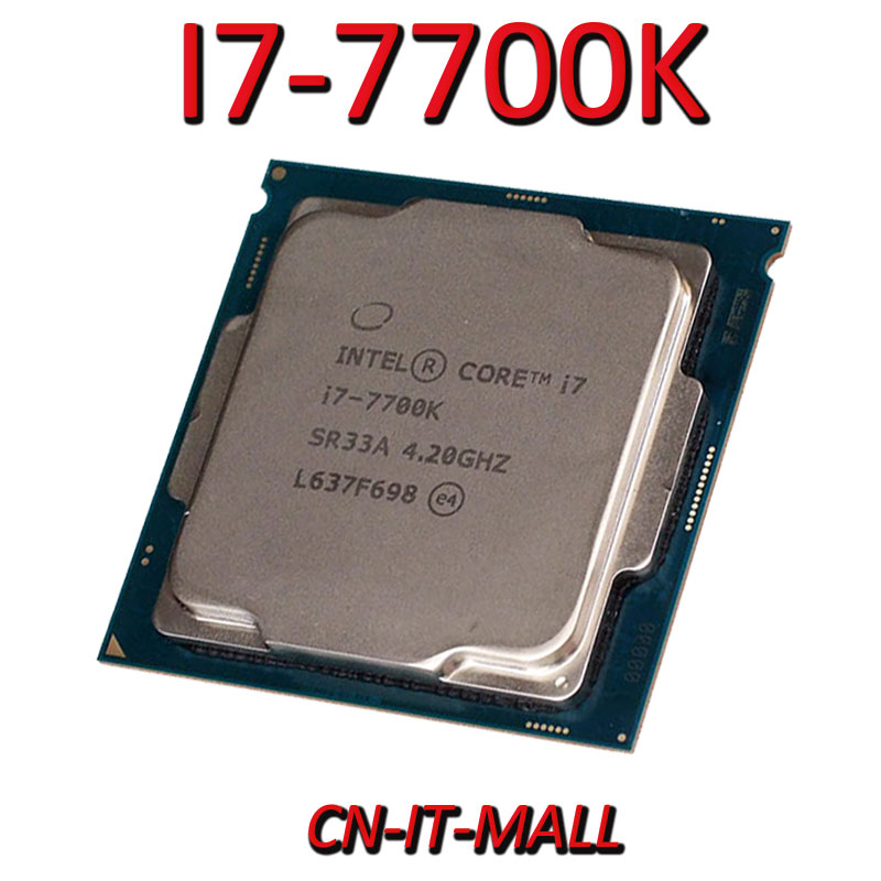 <font><b>Intel</b></font> <font><b>Core</b></font> <font><b>I7</b></font>-<font><b>7700K</b></font> CPU 4.2G 8M 4 <font><b>Core</b></font> 8 Thread LGA1151 Processor image