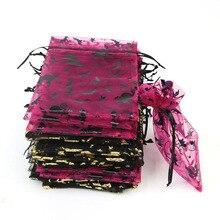 13 * 18Cm Halloween Pumpkin Spider Decoration Bag Children Candy Gift Bag Creative Personality Hot Stamping Drawstring Bag 20pcs