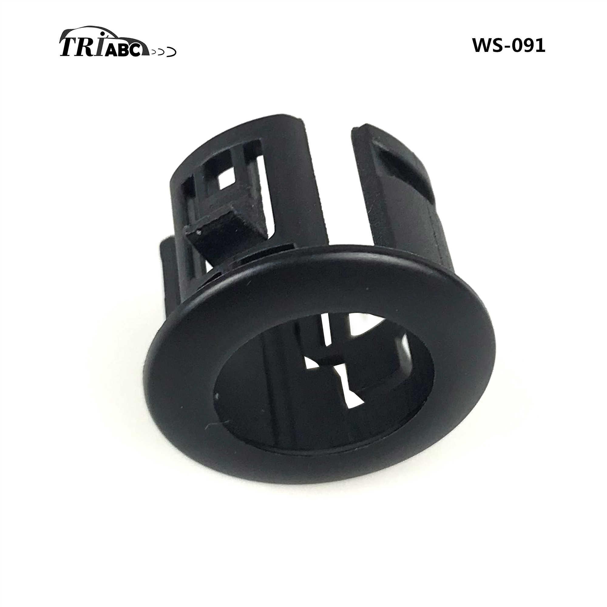 Safety Exterior Accessories X AUTOHAUX 2pcs 89348-33010 Car Bumper ...
