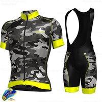 High quality cycling Sweatshirt 2020summer short sleeve cycling suit men's mountain cycling clothing fan color T shirt Triathlon