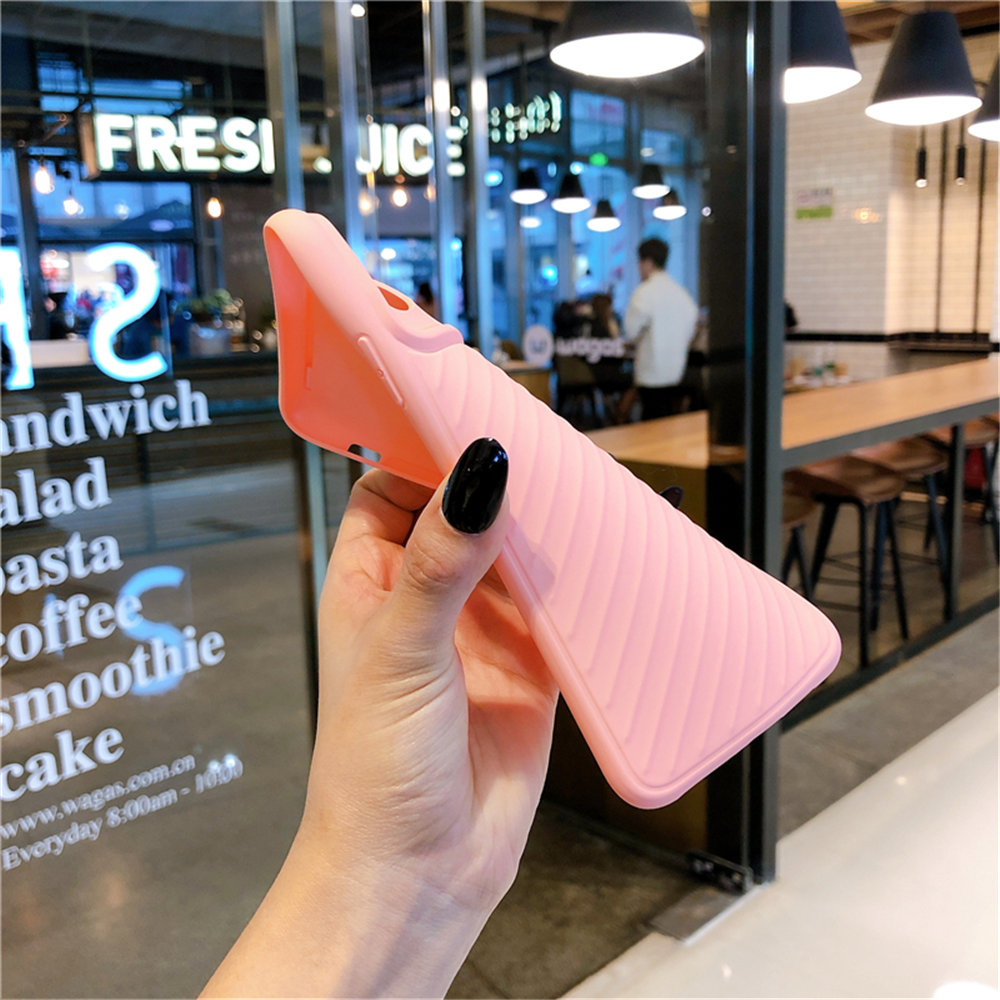 H3b3e0cab6af24b42bef6b3493df3c905J - Lovebay Camera Protection Shockproof Phone Case For iPhone 11 Pro X XR XS Max 7 8 Plus Solid Color Soft TPU Silicone Back Cover