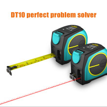 Mileseey DT10 2-in-1 Digital Laser Measure with LCD Display Measuring tape Rangefinder measure laser 20m/40/60m meter