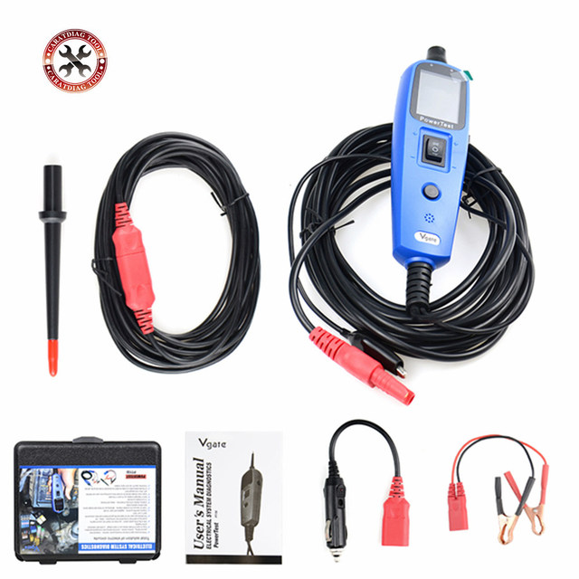 2019 Newest Original Vgate PT150 Power Test Power Probe Car Electric Circuit Tester Automotive Diagnostic Tool Free Shipping