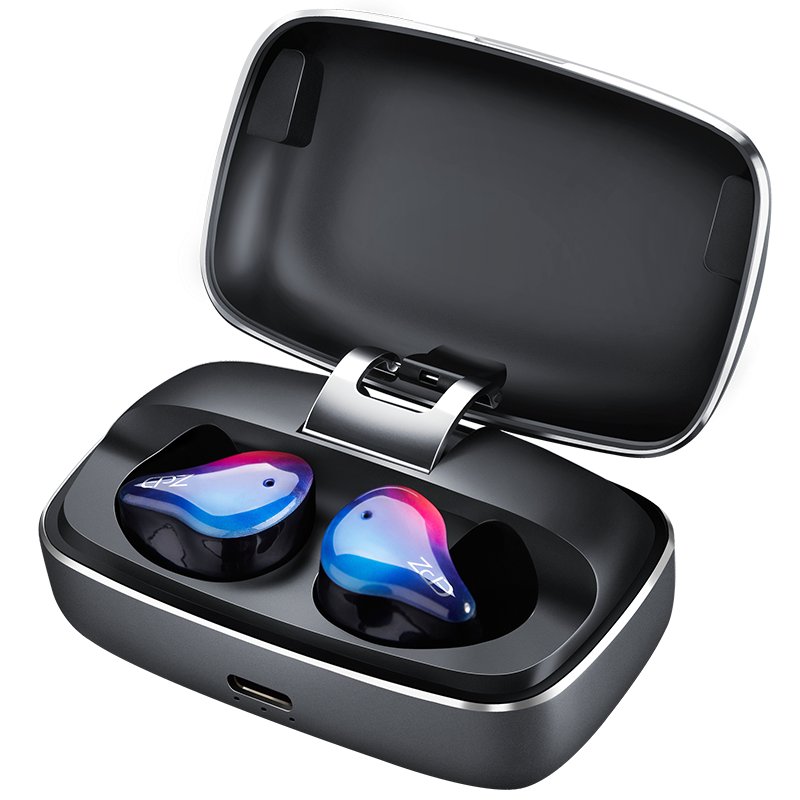 EPZ S350 <font><b>TWS</b></font> Earbuds Bluetooth 5.0 Waterproof IPX7 True Wireless Earphone Noise Cancelling Touch Control with Type-c Connector image