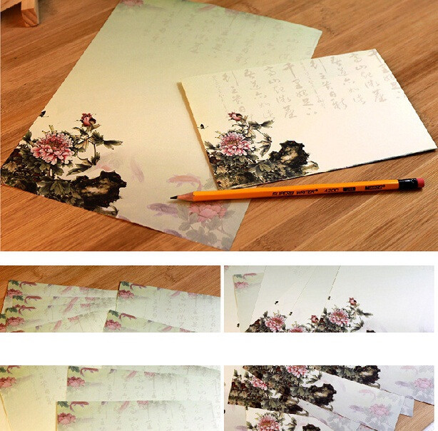 10pcs/pack 125*175mm Distinctive Chinese Style Series Collection Decoration Envelope Gift Stationery