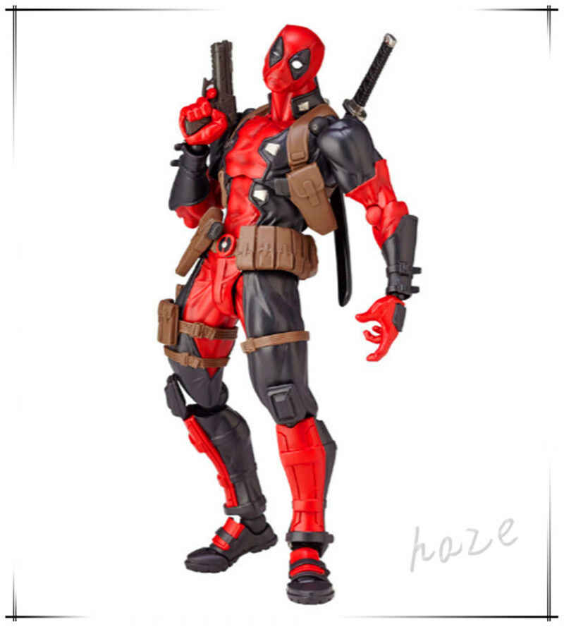 Marvel Truyền Thuyết X-Nam Deadpool Siêu Anh Hùng Nhựa PVC Mô Hình Bộ Sưu Tập Đồ Chơi Deadpool Hình Đồ Chơi Mô Hình 16 Cm trong Hộp
