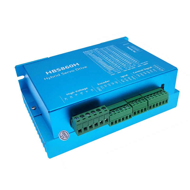 HBS860H HBS86H vòng kín servo driver lai bước servo ổ với RS232 ...