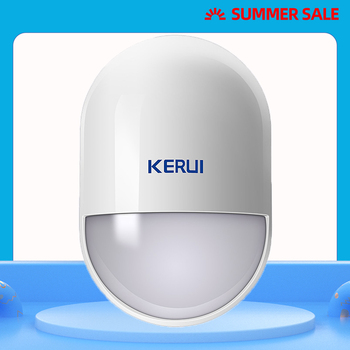KERUI P829 Wireless PIR Motion Detector for GSM PSTN Home Security Alarm System Wireless 433MHz PIR Motion Sensor indoor fuers 3pcs lot 433mhz wireless pir motion sensor built in antenna infrared alarm detector for gsm pstn home alarm system