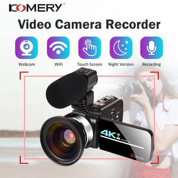 4k-48mp-video-camera-camcorder-vlogging-camera-live-stream-webcam-3-0-inch-hd-touch-screen-night-vision-wifi-external-microphone