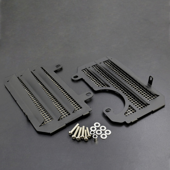 For Honda Crf1000l Africa Twin Motorcycle Refrigerated Water From Radiator Grille Guard Capa