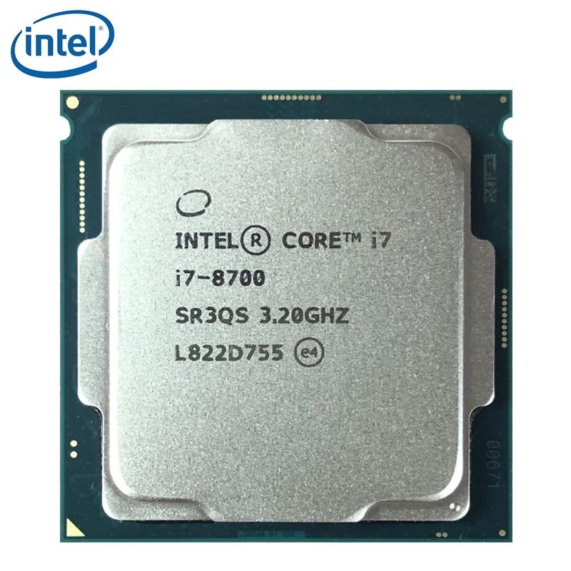 Intel Core i7-8700 i7 8700 3.2GHz Six-Core Twelve-Thread CPU Processor 12M 65W LGA 1151 tested 100% working 1