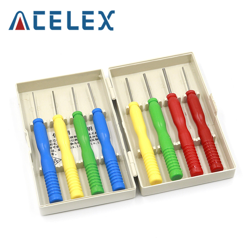 8Pcs Hollow needles desoldering tool Stainless steel electronic components