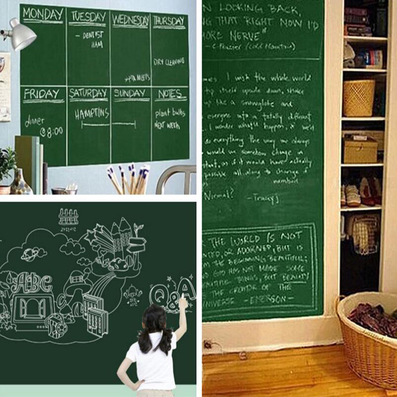 Hot DealsΔSticker Board Erasable Vinyl Green 45x100cm 1pc Drawing▌