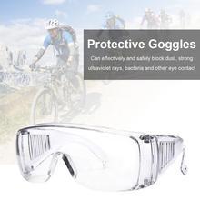 цена на New Clear Safety Work Lab Goggles Eyewear Glasses Eye Protective Anti Fog Spectacles Anti-Splash Wind-Proof Work Safety Glasses