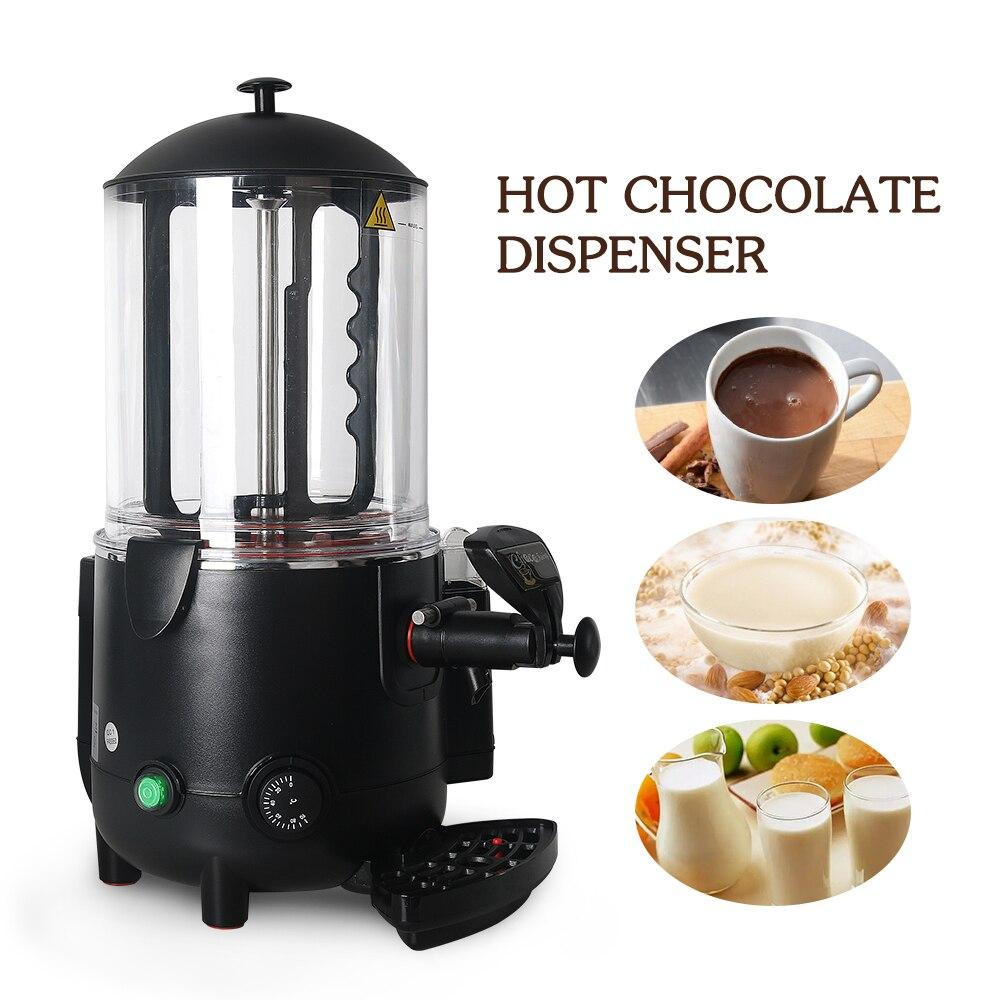 10L Hot Chocolate Dispenser Warming Machine Elektrische Mixer voor chocofairy Koffie Melk juicer Thee Roeren Hot Drankautomaat - 3