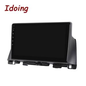 Image 5 - Idoing Radio Multimedia con GPS para coche, Radio con reproductor, Android GPS para coche, 10,2 pulgadas, navegador, no 2 din, DVD, para Kia K5 Optima 3 TF 2003 2012