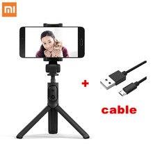 Xiaomi portable Mini trépied pliable 2 en 1 monopode Selfie bâton Bluetooth sans fil télécommande obturateur pour téléphones Iphone