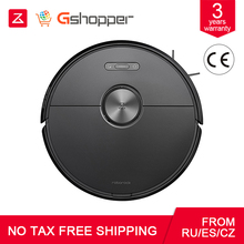 Roborock Robot Vacuums Cleaner S6 Automatic Sweeping Dust Sterilize Smart Planned Cleaning Route Washing Mopping Voice control