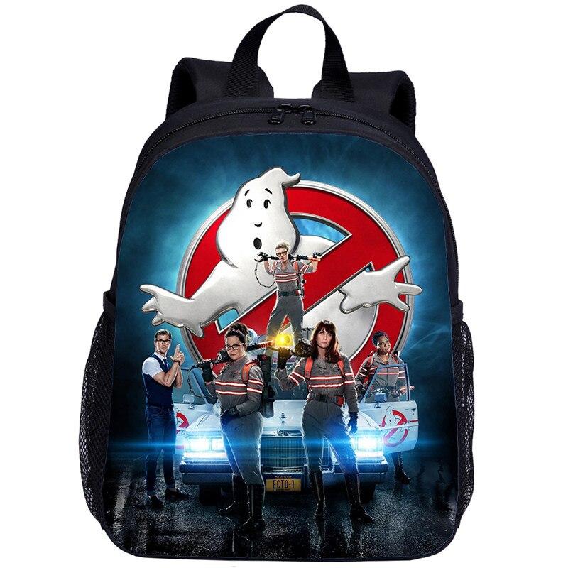 New Fashion Ghostbusters School Bag Cute Kids Baby Girls Mini Backpack Toddler Girls Schoolbag Backpack Casual Machila Wholesale