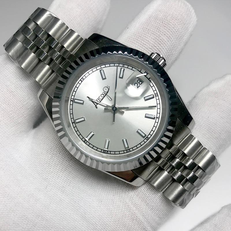 Luxury Brand Watch White Dial 36mm & 40mm Men And Women Automatic Mechanical Diamonds Silver Gold Datejust Watches AAA Wristwatc