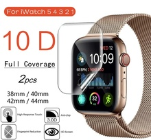 Screen Protector Cover For Apple Watch 5 4 3 2 1 42mm 38mm Protective Film 40mm 44mm For iWatch5 Screen protector cheap YPAY CN(Origin) Ultra-thin Hydrogel Film for apple watch cover for apple watch 38 42mm for apple watch protecter for apple watch case