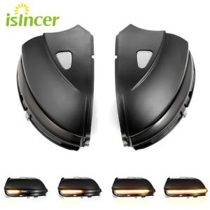 Image 1 - Indicador de espejo retrovisor LED dinámico para Volkswagen Passat CC B7 Beetle Scirocco Jetta MK6, luz de señal de giro dinámica, 2 uds.