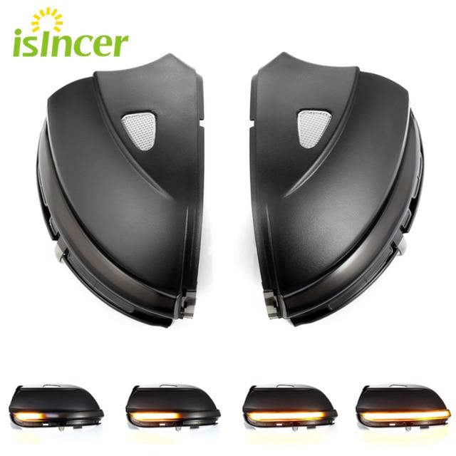 Indicador de espejo retrovisor LED dinámico para Volkswagen Passat CC B7 Beetle Scirocco Jetta MK6, luz de señal de giro dinámica, 2 uds.