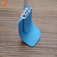 Средний скребок для выпечки применимый инструмент силикагель крем Мягкий скребок перемешать муку Хрустальная ручка антипригарный скребок