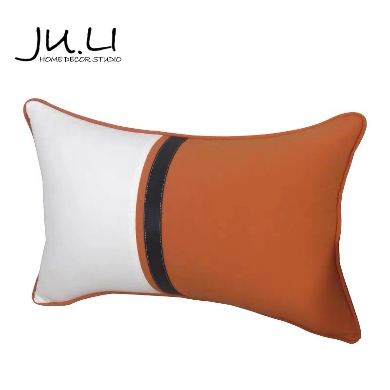 New Product Is Contemporary And Contracted Style Whole Cotton Splice Lumbar Pillow/Поясница подушка Room Soft Outfit Sofa Lives