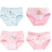 Envio Gratis 3 Pcs Cute Panties Cotton Girls Underwear Childrens Boxer Briefs Bragas Calcinha Infantil Panty Baby Girl Clothes