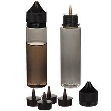 50pcs 30ml/60ml/100ml/120ml ריק שחור PET דואר מיץ בקבוק Vape בקבוקים טפטפת מובטח בפני ילדי כובע נוזל סיגריה שמן מלא מכולות