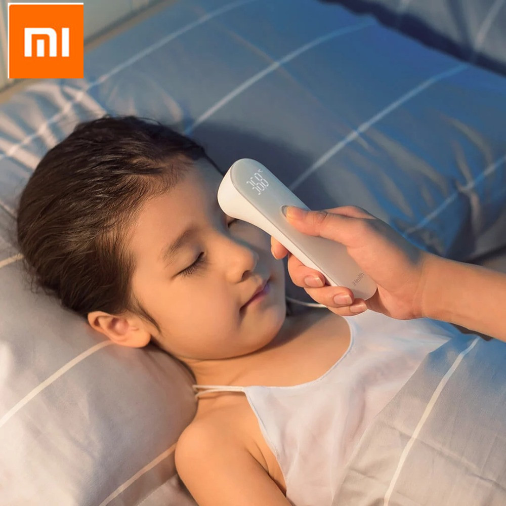 Xiaomi IHealth Thermometer Accurate Digital Fever Infrared Clinical Thermometer Non Contact Measurement LED Shown