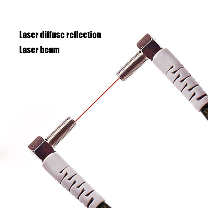 M4 M6 1-100MM Laser Photoelectric switch Sensor Diffuse reflection Laser range sensor
