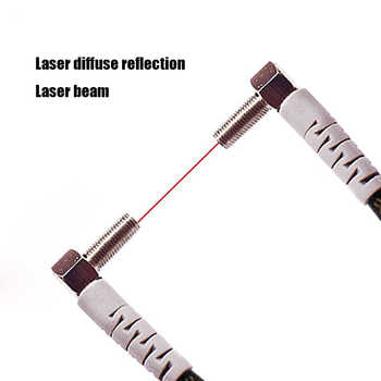 M4 M6 1-100MM Laser Photoelectric switch Sensor Diffuse reflection Laser range sensor - DISCOUNT ITEM  10% OFF All Category