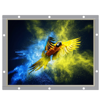 цена на 12.1 Inch Industrial Vga Monitor Hdmi Screen Computer Monitor 1024*768 Open Frame PC Display Resistance or Not Touch Screen