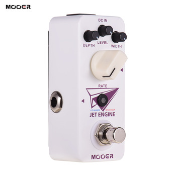 Mooer Jet Engine Electric Guitar Effect Pedal Digital Multi-Frequency Flanger Pedal True Bypass Compact Pedal Guitar Effects new
