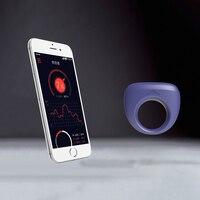 Magic Motion APP Smart Wearable Cock Ring Sex Toy Bluetooth Vibrator Penis Sleeve Dante Ring Wireless Bullets Massage Stimulator