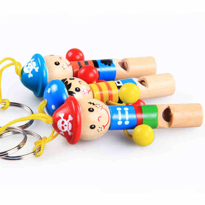 Animal Small Whistle Educational Small Whistle Teach Pirate Whistle Men's Pirate Toy
