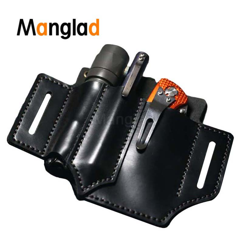 Tactical Multifunction Belt Holster EDC Portable Tool Storage Bag For Knife Pen Scabbard Hunting Camping Military Waist Bag Clip